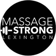 Massage Strong logo as link to their website